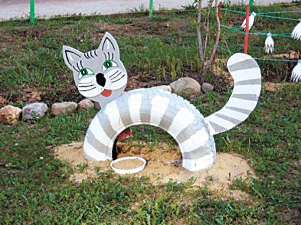 Как сделать котенка из подручных материалов