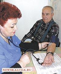 В нашем городе примерно 20% калужан перенесли инсульт